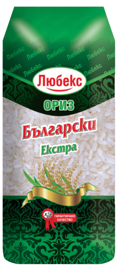 Ориз Български Екстра Любекс 1кг