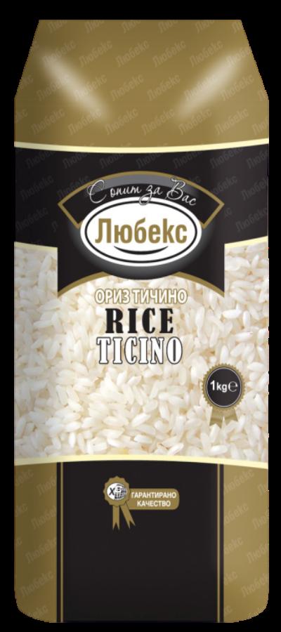 Ориз Тичино Любекс 1кг