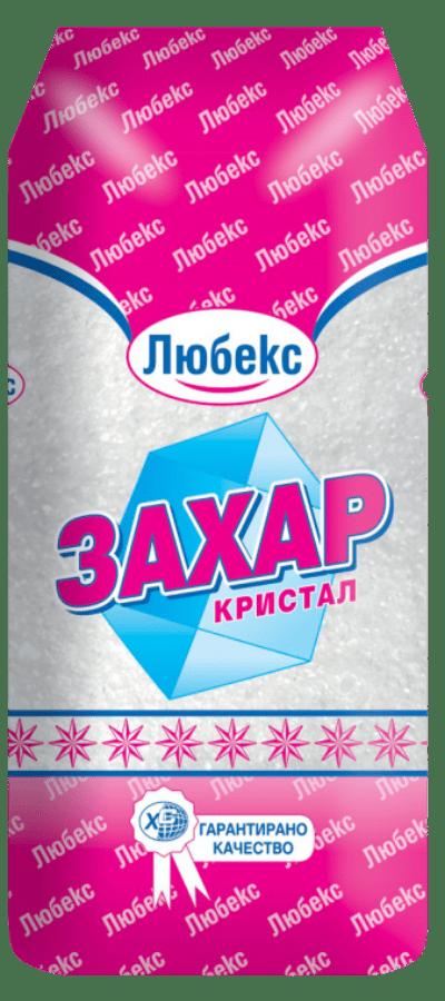 Захар Кристална Любекс 1кг